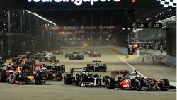 فورمولا 1 – التجارب  الحرة لجائزة سنغافورا الكبرى –
