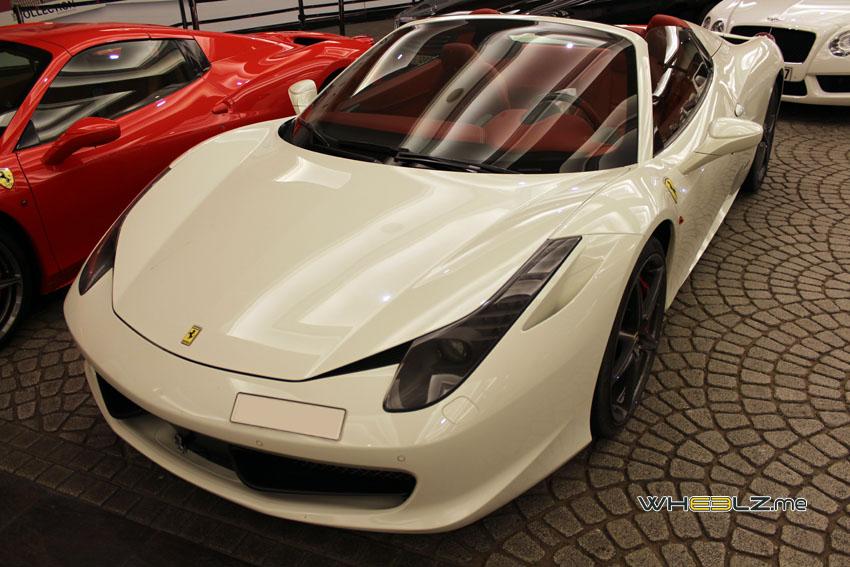 Ferrari 458 italia Spyder 2