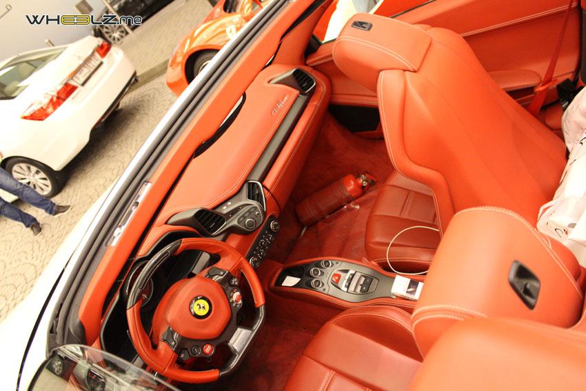 Ferrari 458 italia Spyder 3