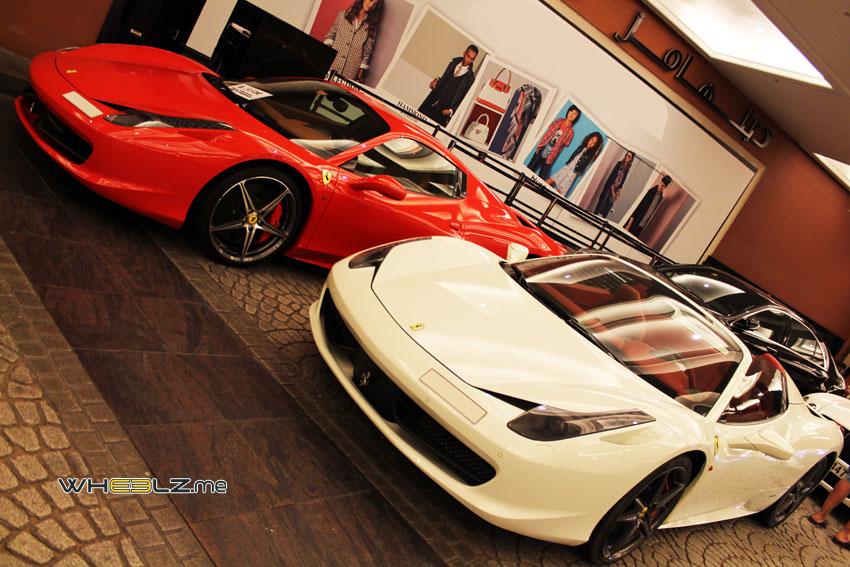 Ferrari 458 italia Spyder 4