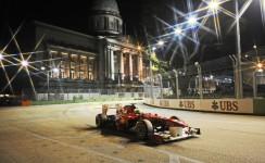فورمولا 1 – التجارب الرسمية  لجائزة  سنغافورا الكبرى