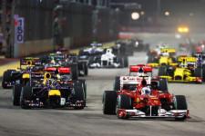 فورمولا 1 -نتائج سباق جائزة  سنغافورا الكبرى
