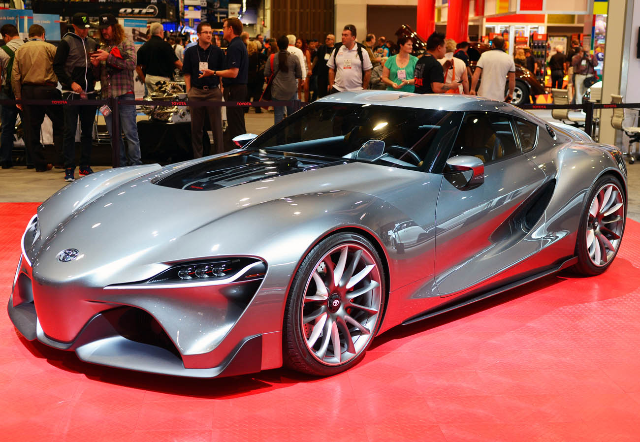 2014SEMA_ToyotaBooth_FT1Concept