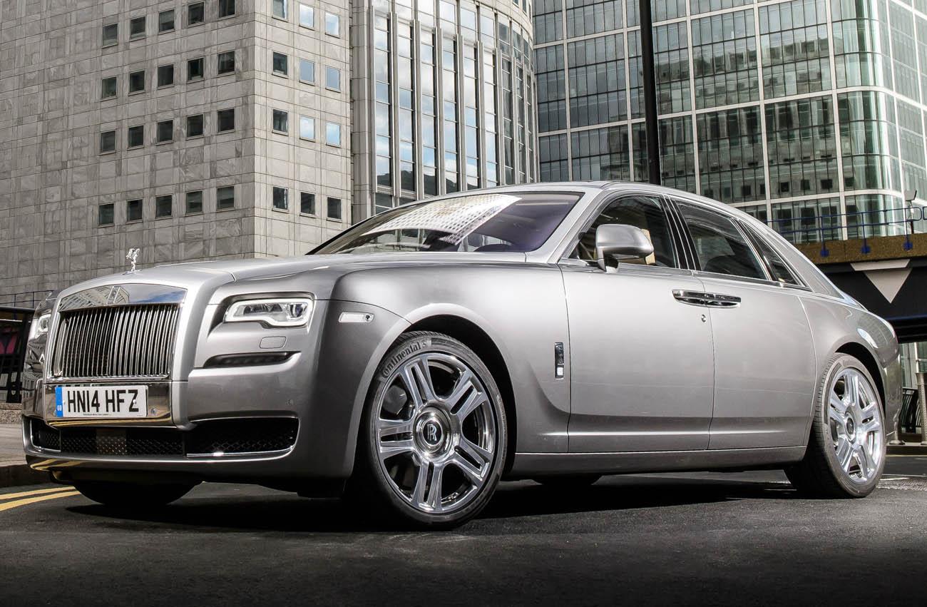 Rolls-Royce Ghost Series II, London Photograph: James Lipman +4