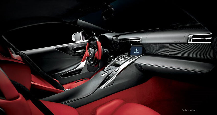 Lexus-LFA-Customizable-Interior
