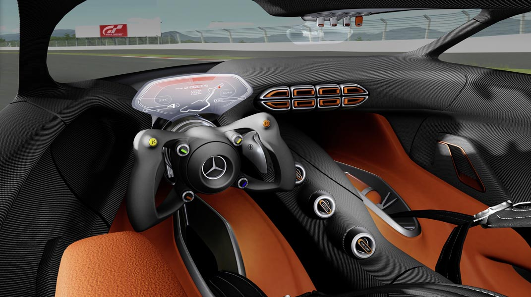 Interieur Mercedes-Benz AMG Vision Gran Turismo
