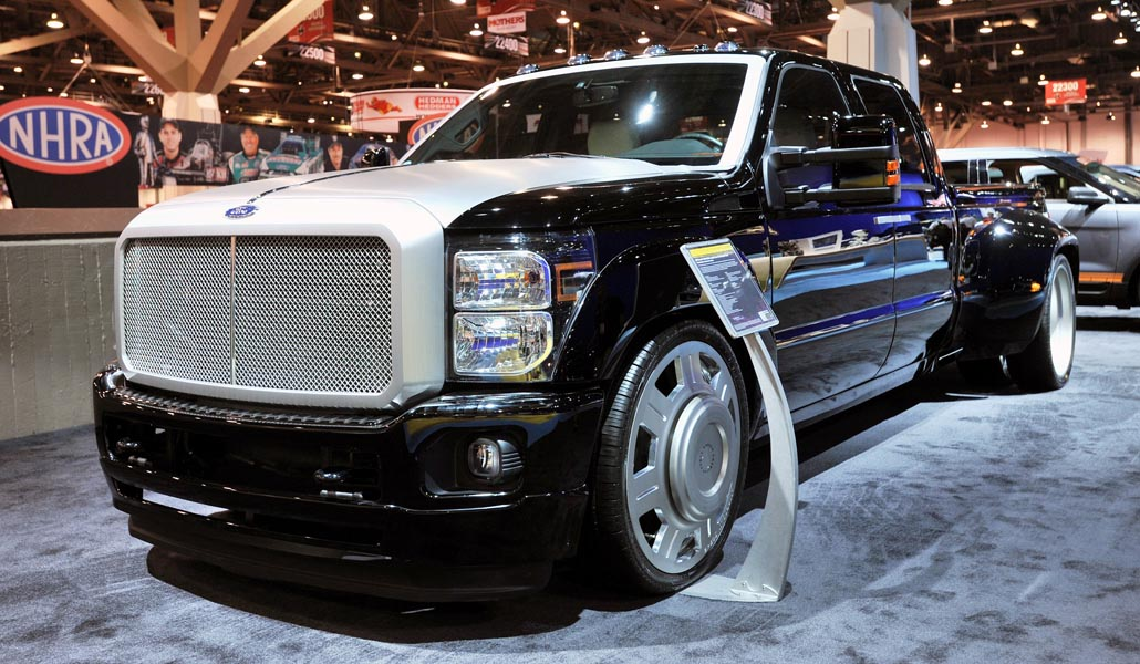 2011 Ford F-350 Super Duty by Hulst Customs