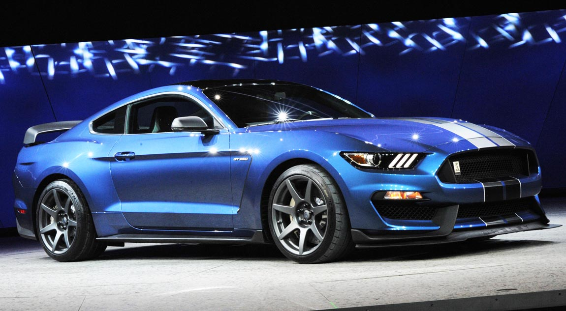 The all-new Shelby GT350R Mustang was introduced to journalists