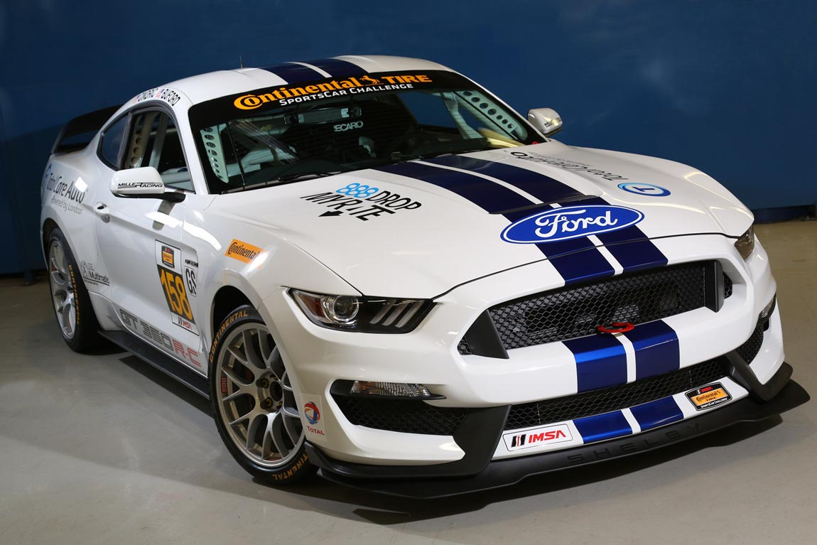 Ford Performance Shelby GT350R-C to Make IMSA Competition Debut