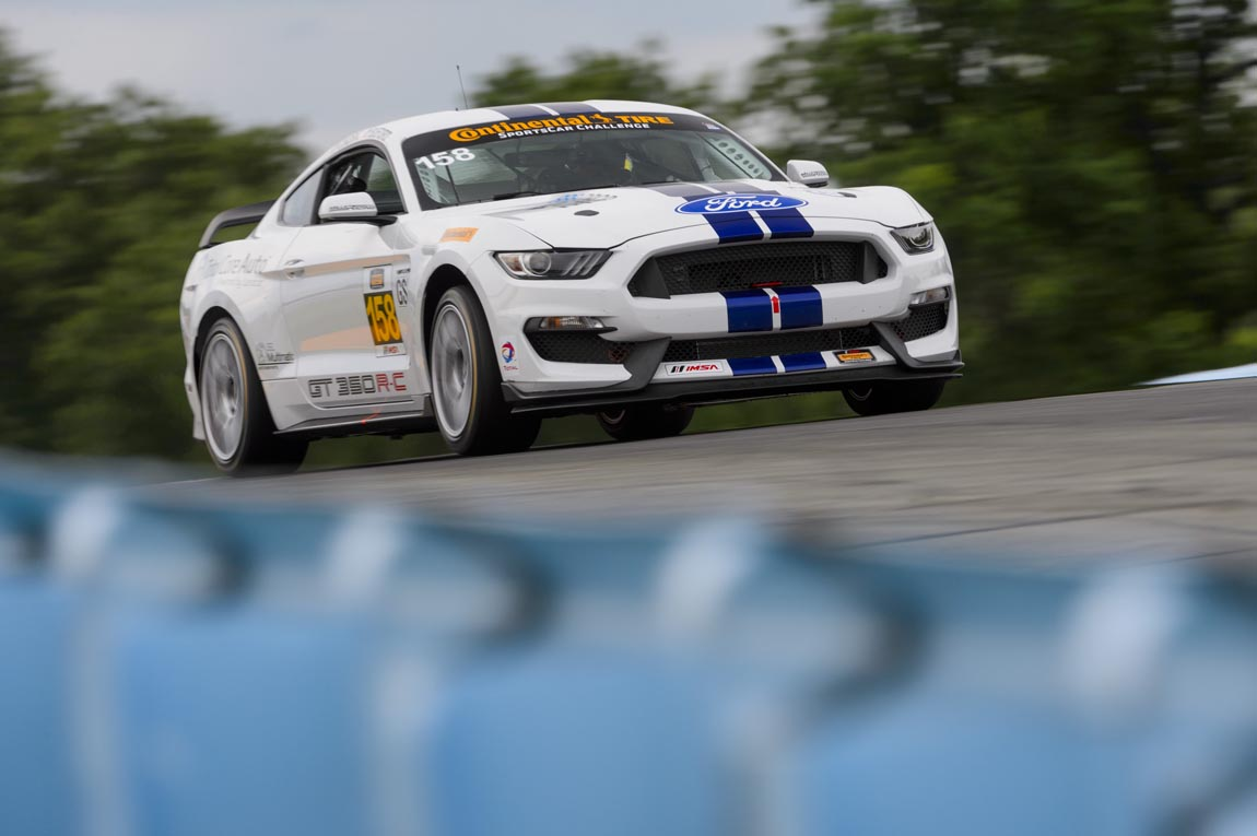 Ford Performance Shelby GT350R-C IMSA Competition Debut at Watki