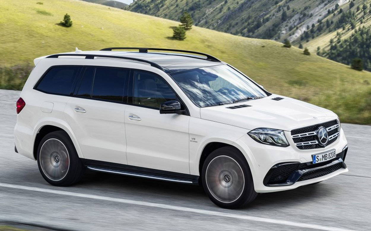 Mercedes Benz GLS (5)