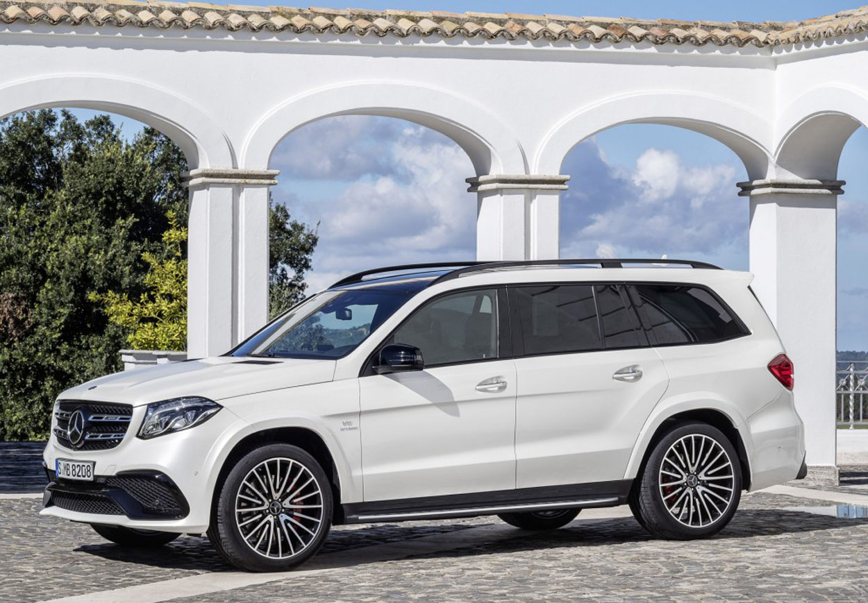 Mercedes Benz GLS (8)