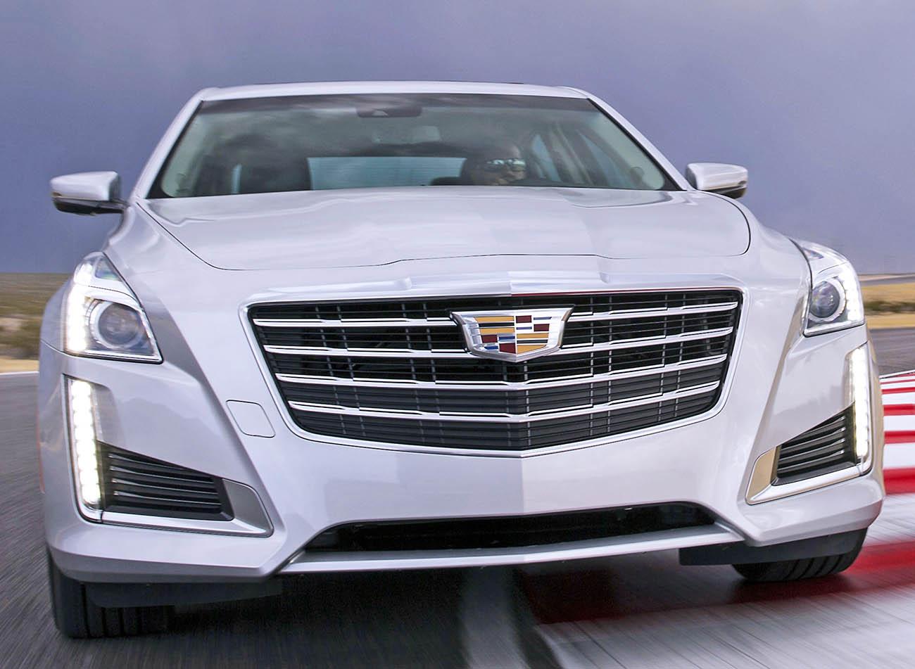 2017 Cadillac CTS luxury sedan