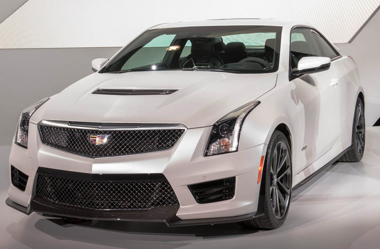 Cadillac Unveils ATS-V Coupe and Sedan At LA Auto Show