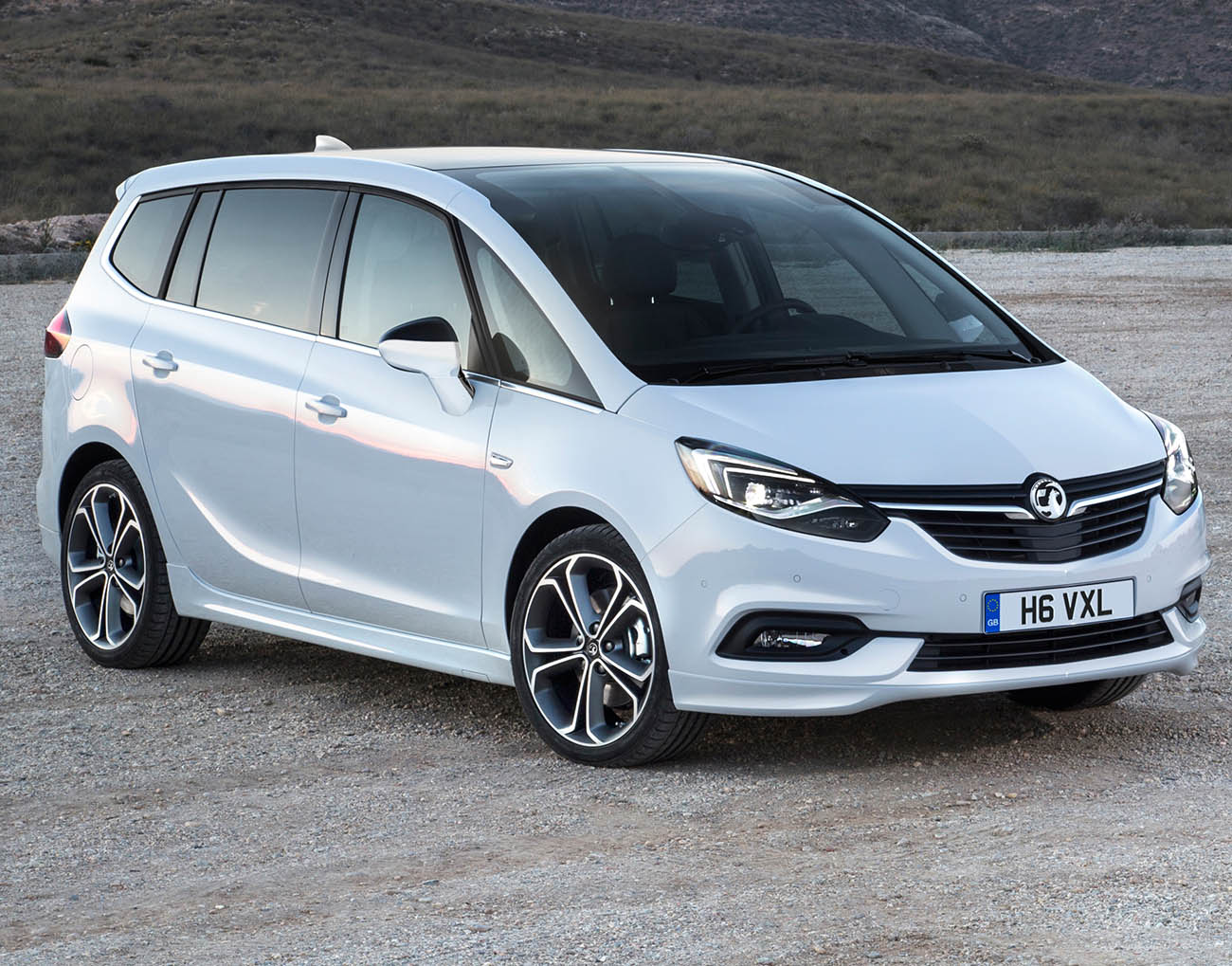 First pictures of Vauxhall's new Zafira Tourer