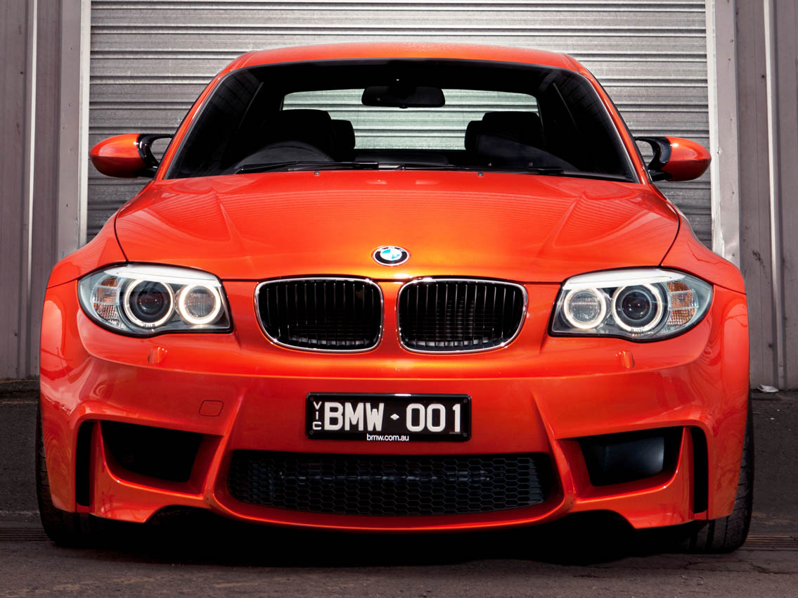 BMW 1 Series M Coupe in Australia (08/2011)