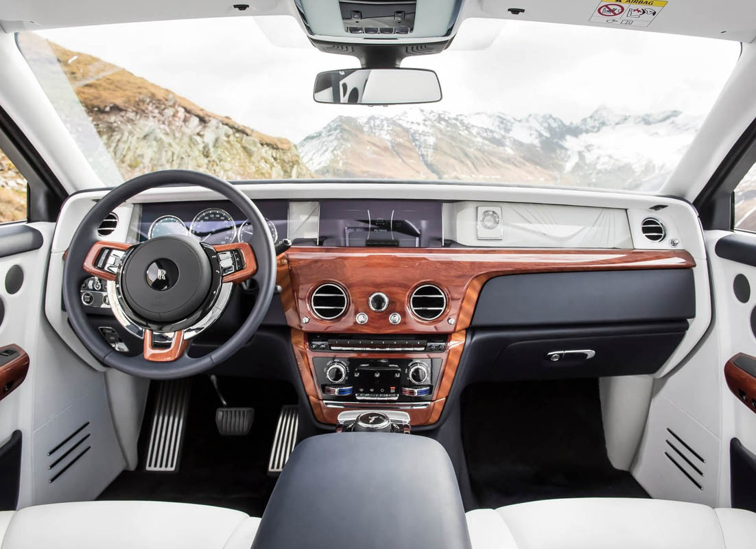 2018 for Rolls royce ghost interior