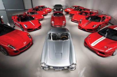 مجموعة خيالية من سيارات فيراري للبيع بملايين خيالية