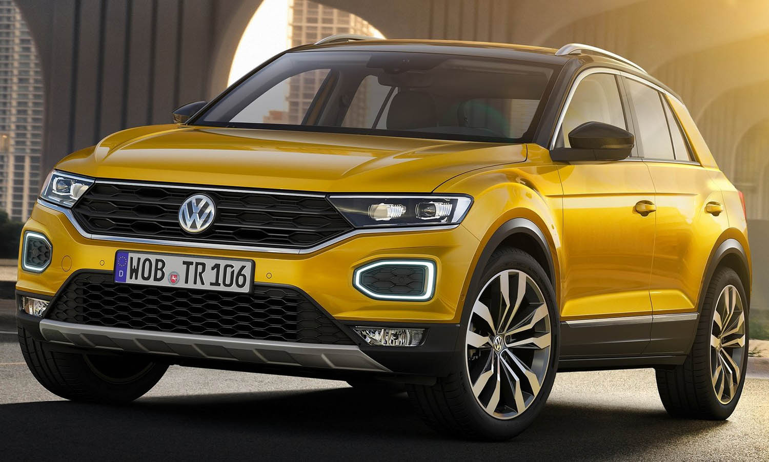 The Powerful And Charismatic Volkswagen T-Roc Arrives In The Bahrain