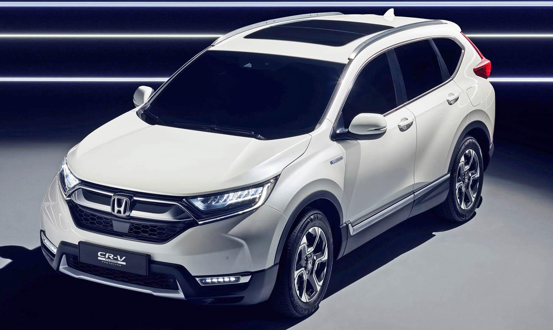 هوندا سي أر في هايبرد 2018 – سيارة من دون غيارات اَتية من كوكب اليابان