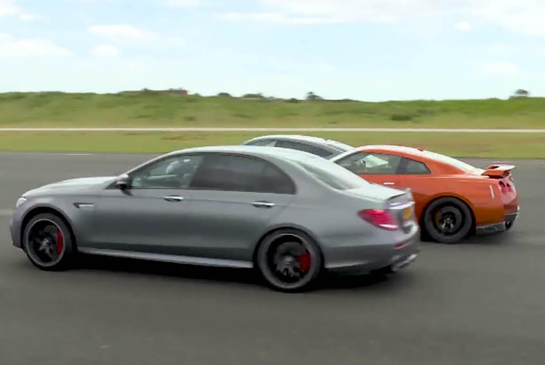Nissan GT-R vs Audi RS7 vs Merc E63 AMG - Drag Races - Top Gear 1753 ...