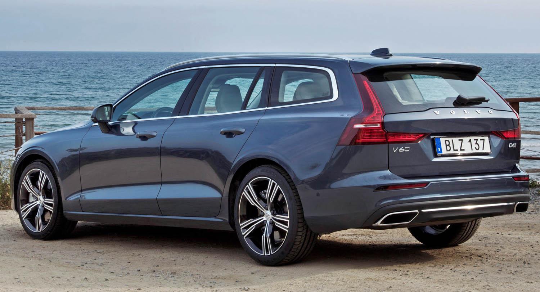 New Volvo V60 D4 Inscription Denim Blue موقع ويلز