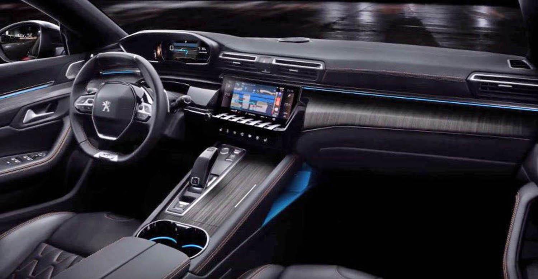 508 2019 - Interior peugeot 508 ...