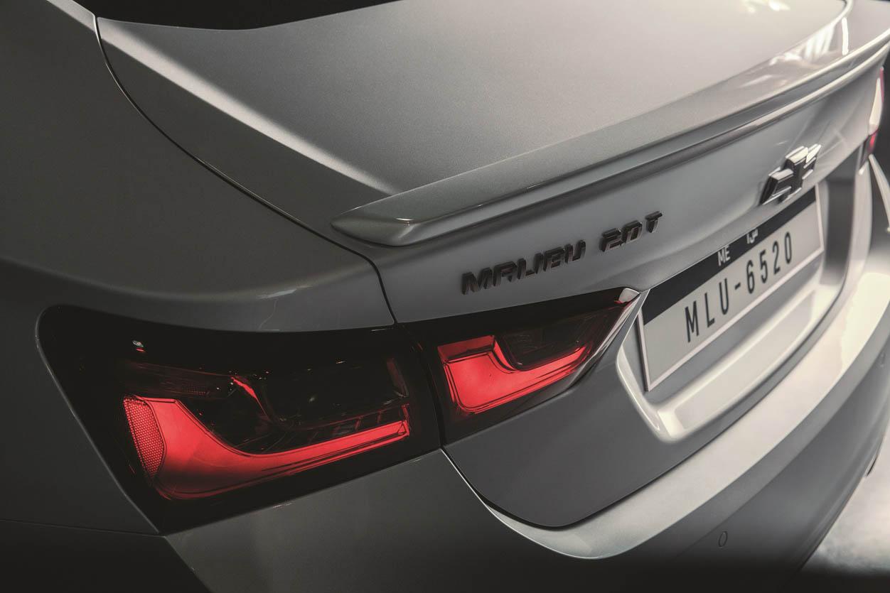 Chevrolet Malibu Tail Light Trunk Detail V