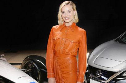 حفل اطلاق سيارة نيسان لبطولة الفورمولا إي في لوس أنجلوس بحضور الممثلة مارغو روبي