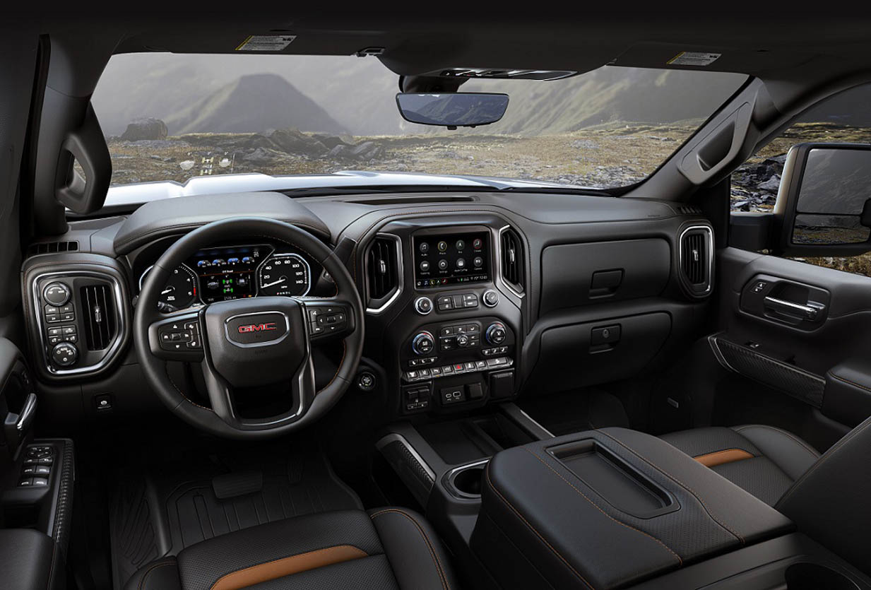 2020 GMC Sierra HD AT4 Interior | موقع ويلز