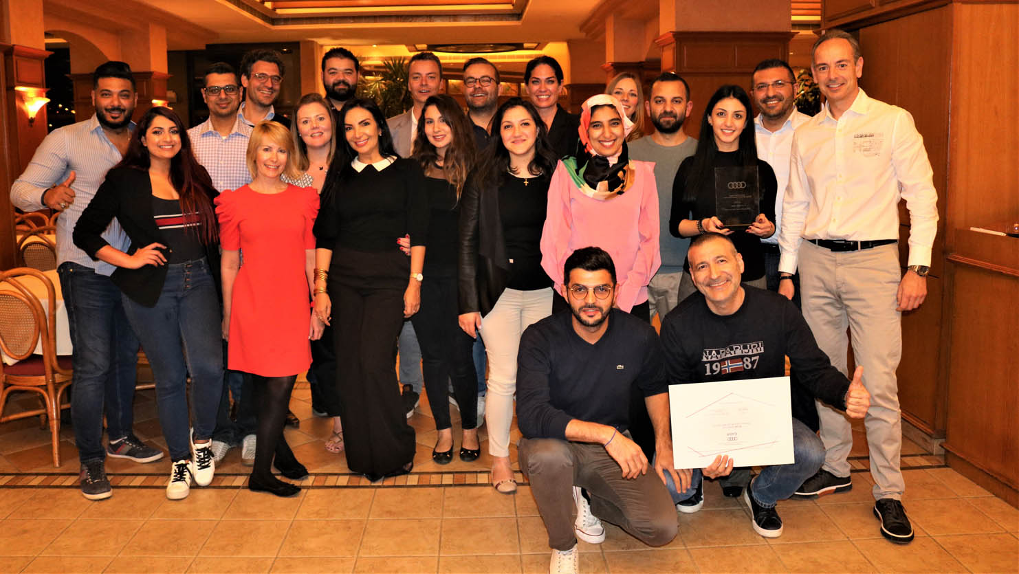 أودي لبنان تفوز بجائزة أودي ACA-Winners-Audi-Leb