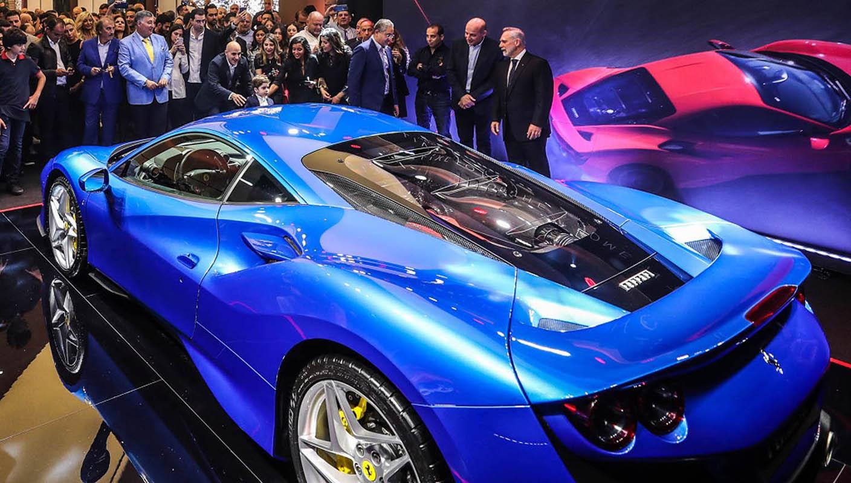 فيراري تريبوتو 2020 أجمل سيارات Ferrari-F8-Tributo-L