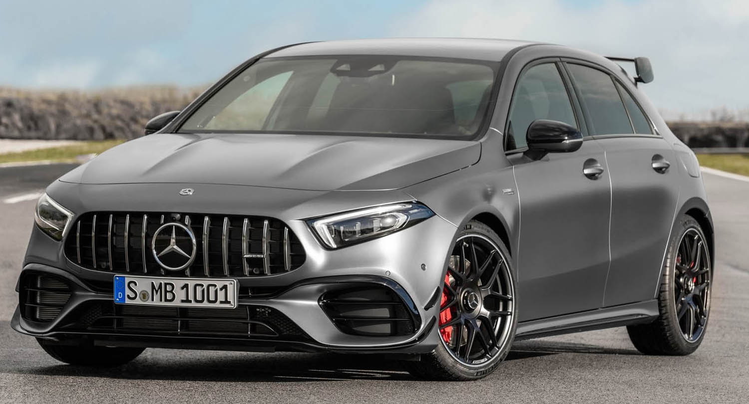 Mercedes-AMG A45 4Matic – The Ultimate Driving Dynamics
