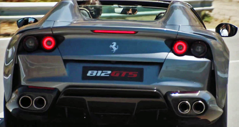 فيراري 812 جي تي أس 2020 الجديدة كليا أقوى سيارة مكشوفة