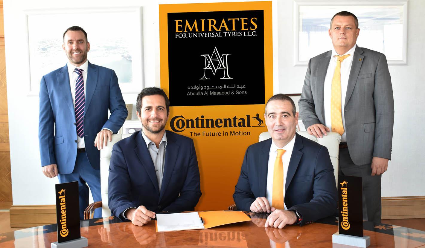كونتيننتال تمدّد شراكتها مع الإماراتية للإطارات العالمية  حتى 2023 Image-2-L-R-Shaun-Sm