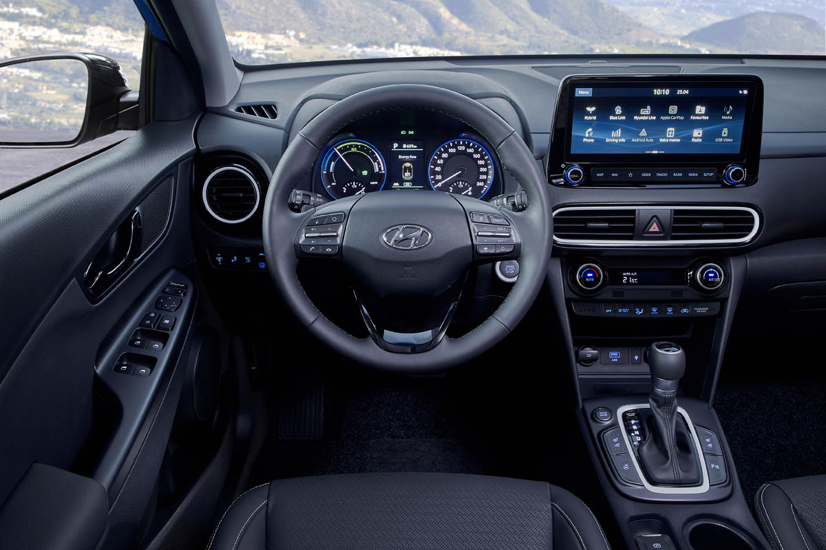 All New Kona Hybrid Interior 2 موقع ويلز