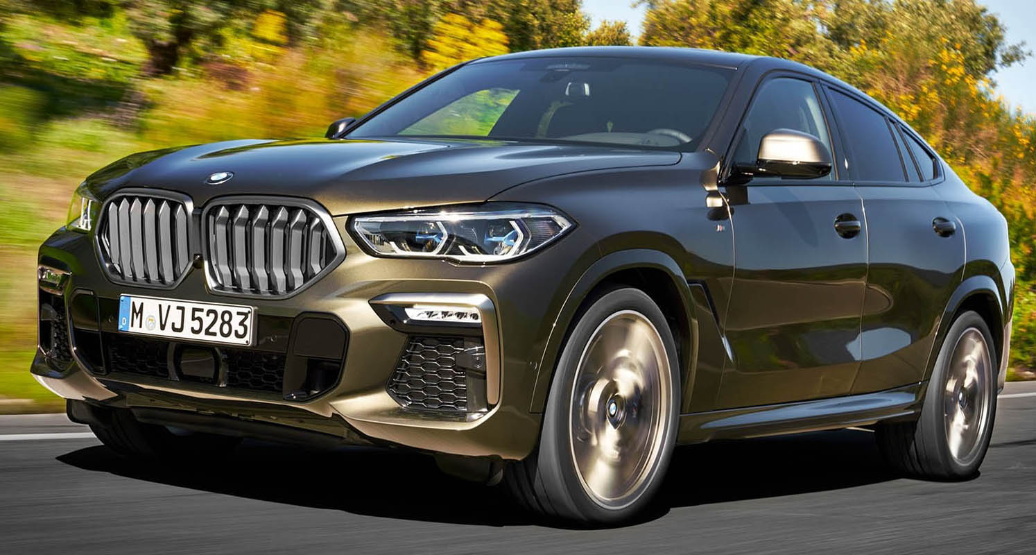 Bmw X6 – The Signature Attributes Of A SAV With The DNA Of A Classical Coupe