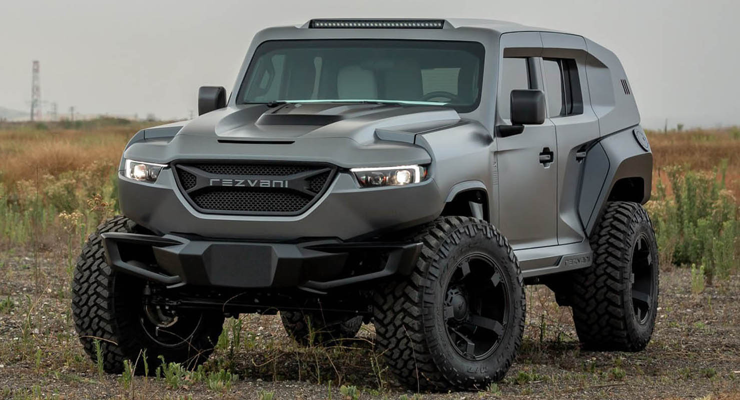 Rezvani Tank – The Xtreme Utility Vehicle