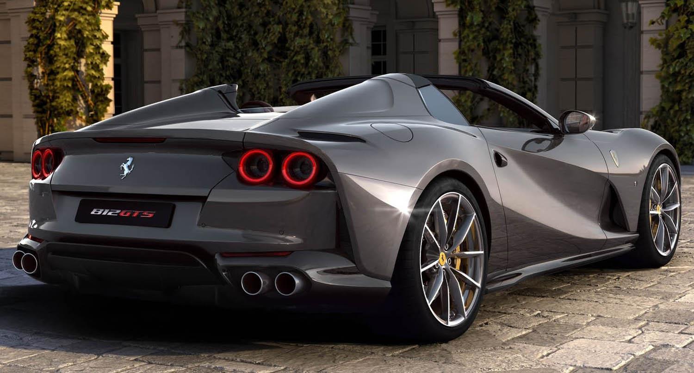 الطاير للسيارات تنال شهادات آيزو Ferrari-812_GTS-2020