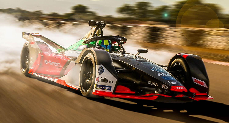 فورمولا إي: دانييل أبت ولوكاس دي غراسي يشاركان في سباق افتراضي