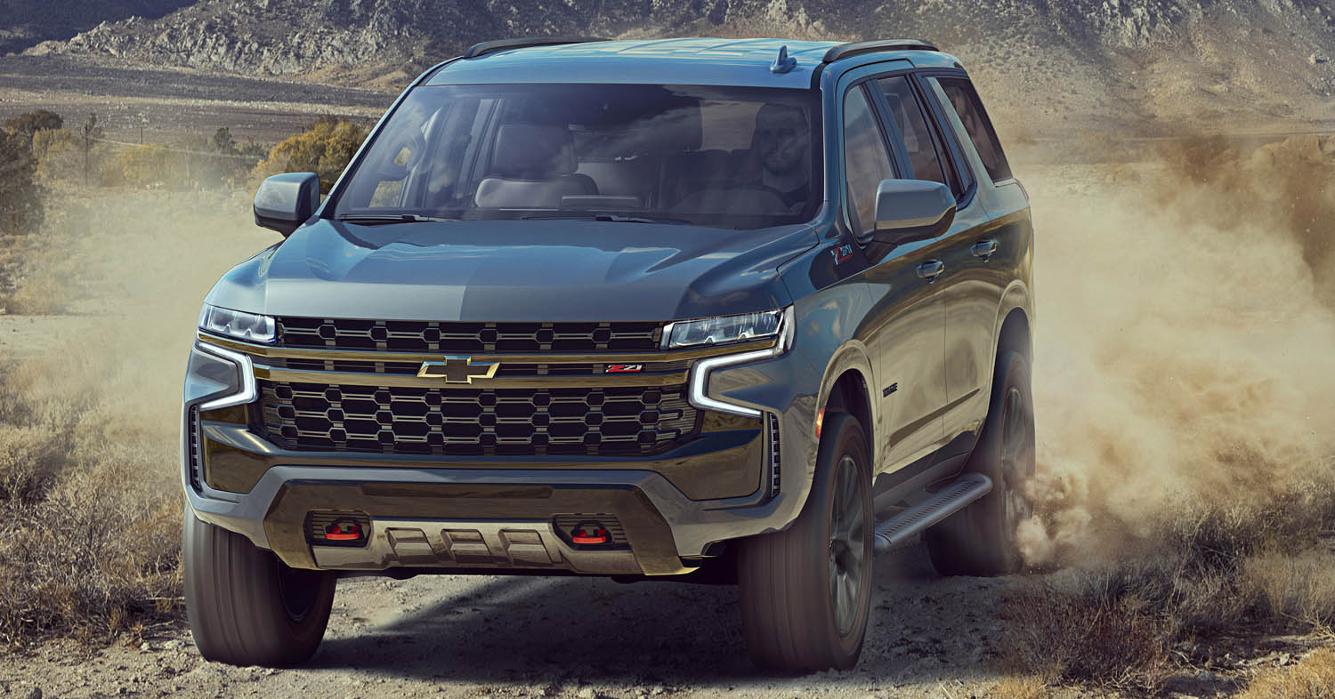 The All-New Chevrolet Tahoe Makes Every Adventure Smart