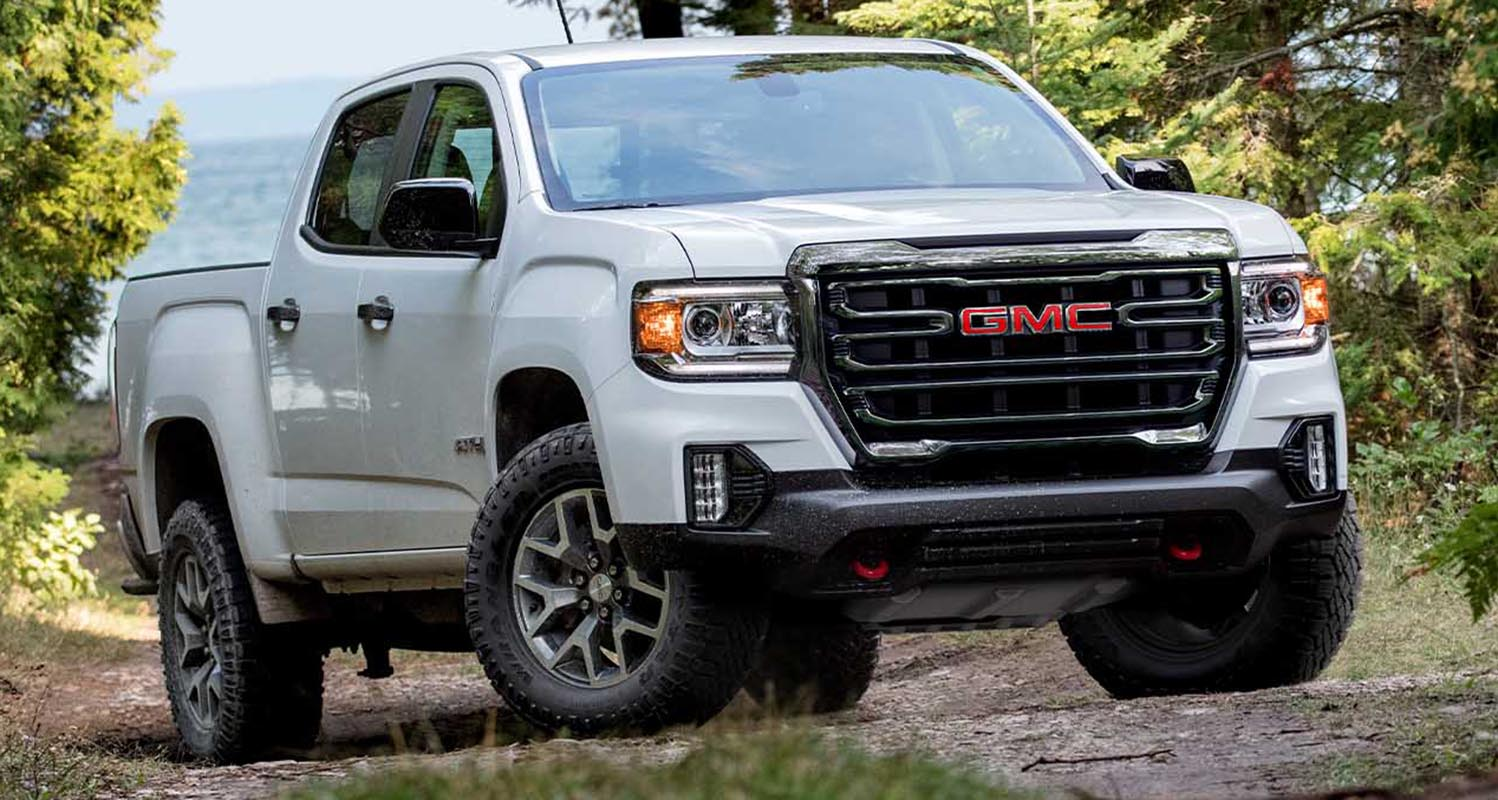 The New 2021 GMC Canyon