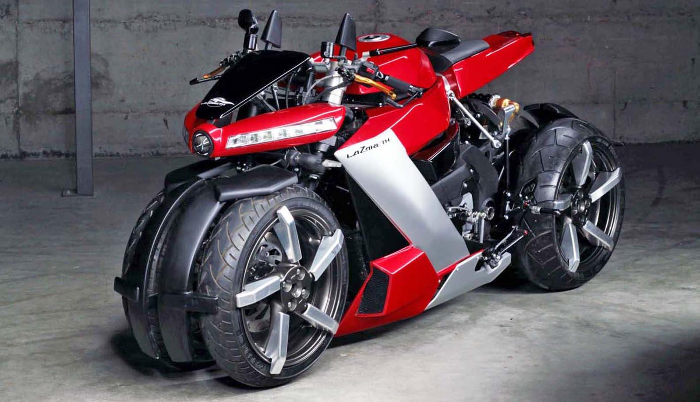 لازاريث أل أم 847 الجديدة 2021 - دراجة رباعية العجلات وفائقة ...