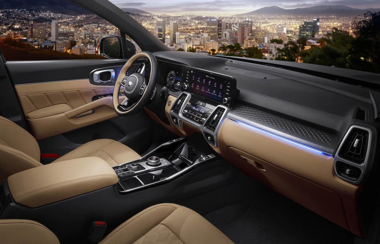 كيا سورينتو الجديدة كلياً تحصل على لقب أفضل سيارة دفع رباعي لعام 2020