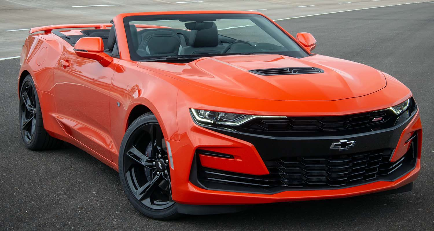 Chevrolet Camaro – Styling And Performance Inspired By Super Cars