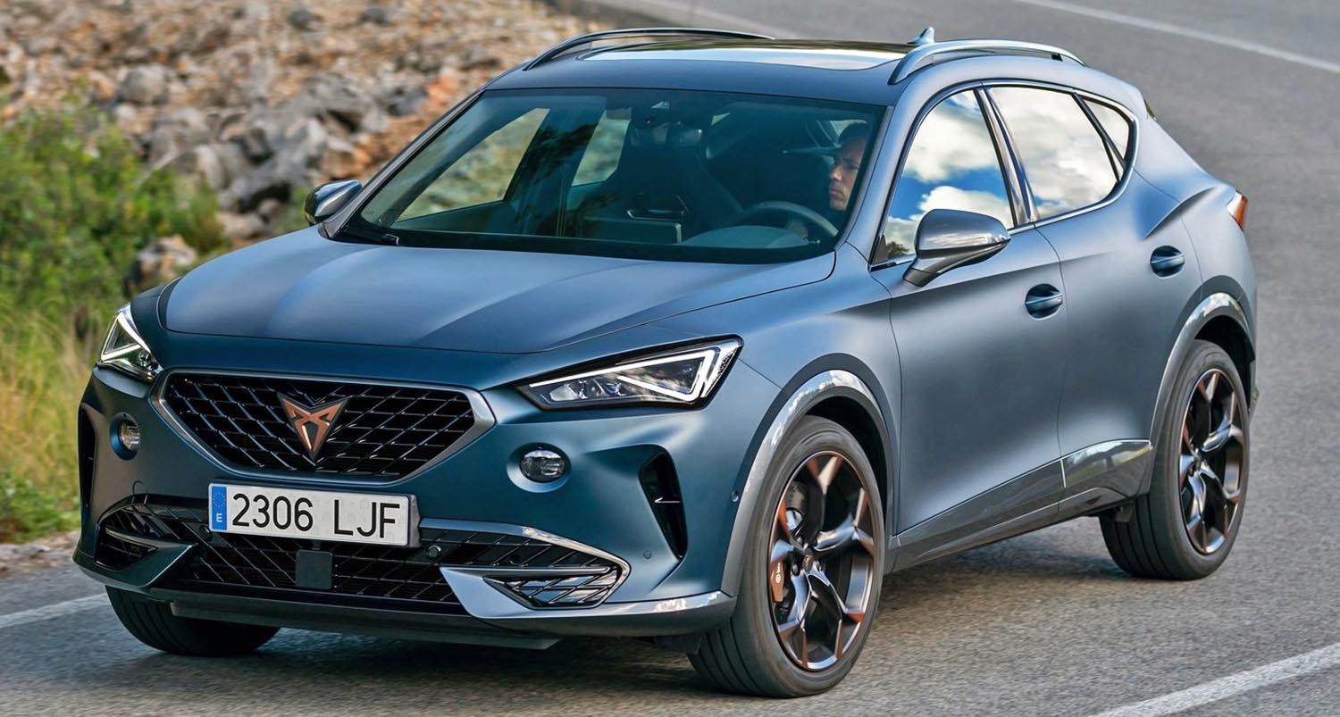 Cupra Formentor Wins The Red Dot Award For Product Design 2021