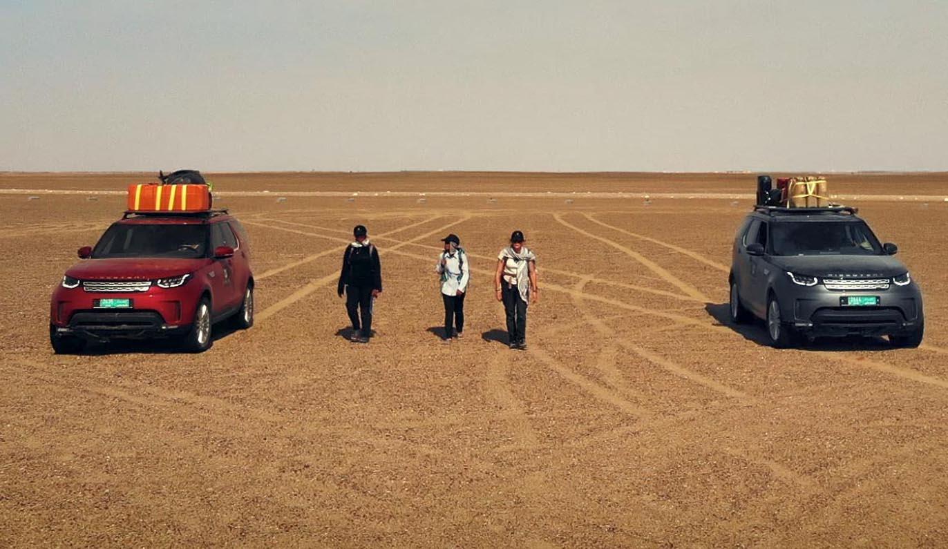 لاند روڤر تقدم دعمها لرحلة استكشافية في عُمان