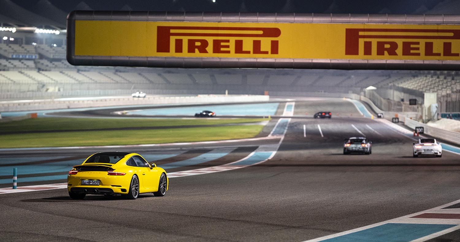 Pirelli Revs Up UAE's Motorsport Scene With 16 Action-packed Track Days In 2020/21 Season