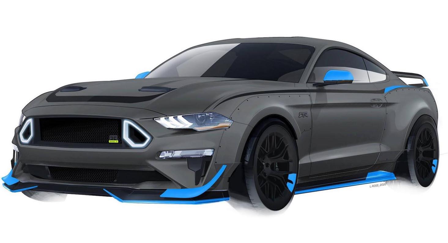 فورد موستانغ آر تي آر 2020 المحدودة الانتاج- سيارة العضلات المنفوخة بقوة 750 حصان