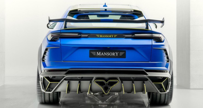 لامبورغيني أوروس مانصوري فيناتوس 2020 المعدّلة – قوة الأزرق الخارقة